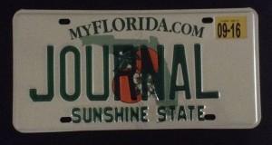 FL License Plate.